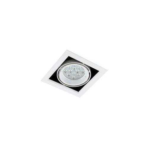 Spot LAMPA sufitowa VERNELLE TG0004-1 Italux metalowa OPRAWA LED 12W kwadratowy PLAFON biały, TG0004-1