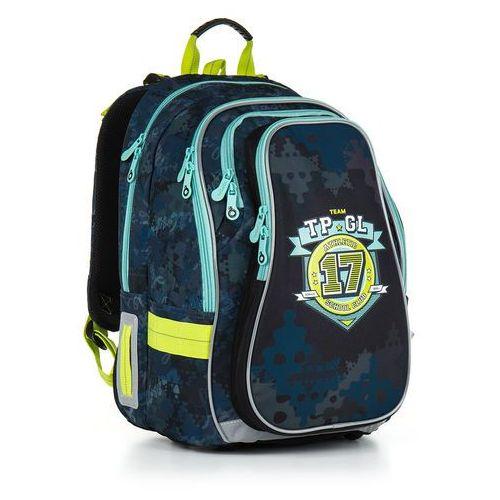 Topgal Plecak szkolny chi 878 d - blue