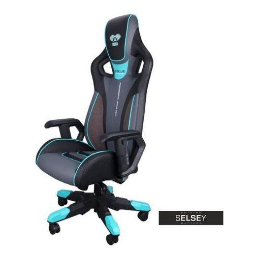 Selsey fotel gamingowy e-blue cobra 3 czarno-niebieski