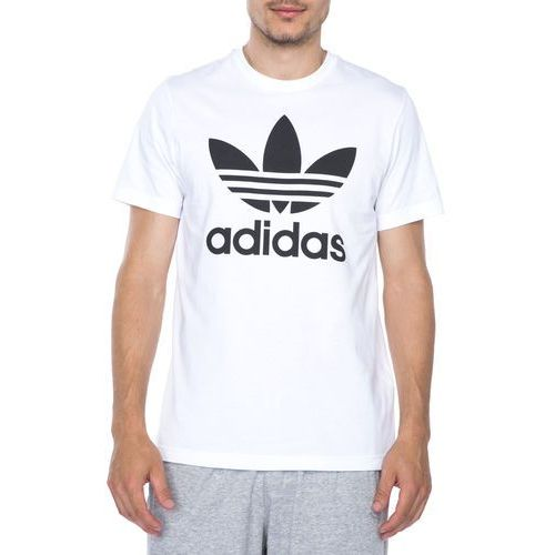 originals trefoil koszulka biały l marki Adidas originals