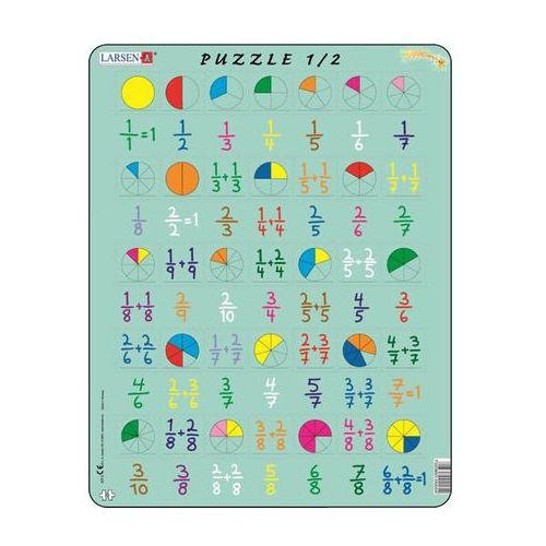 Neuveden Puzzle maxi - počítání - zlomky/35 dílků