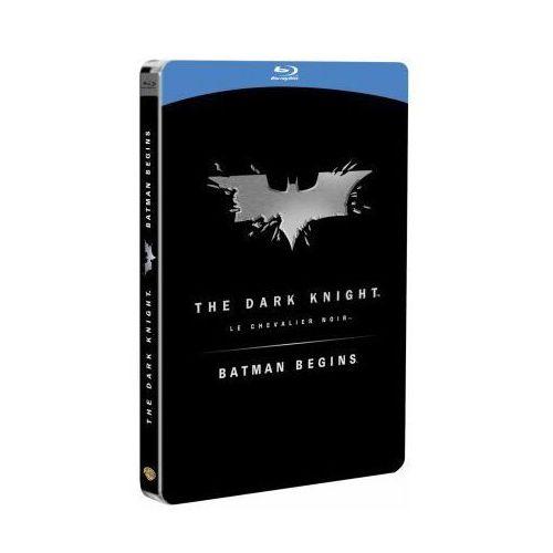 Batman Początek, Mroczny Rycerz. (STEELBOOK 3BD) Pakiet Kolekcjonerski (film)