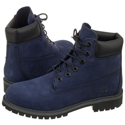 Trapery Timberland 6 In Premium WP Boot Evening Blue A1MMR (TI53-f), kolor fioletowy