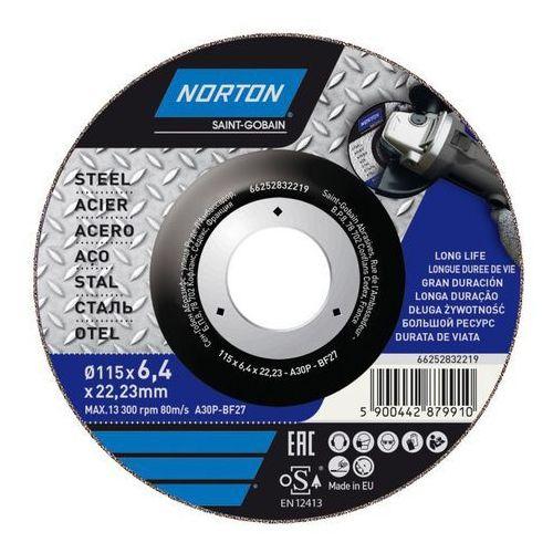 Tarcza korundowa Norton do szlifowania stali 27-115 x 6 4 x 22 2 mm