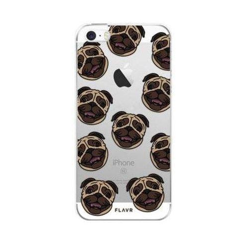 Flavr Etui iplate pugs do apple iphone 5/5s/se wielokolorowy (27162) (4029948054728)