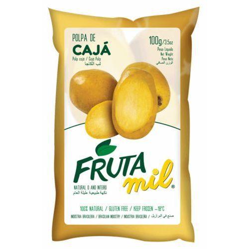 Frutamil comércio de frutas e sucos ltda Caja naturalny miąższ (puree owocowe, sok z miąższem) bez cukru