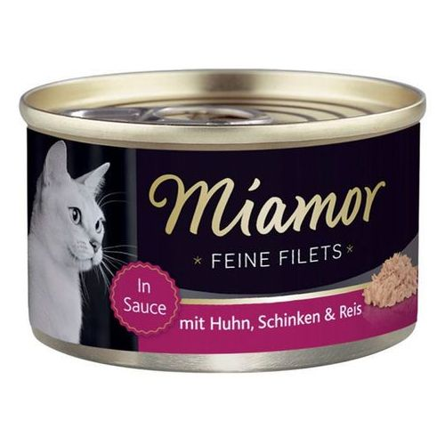 Miamor feine filets kurczak i szynka puszka 100g marki Finnern