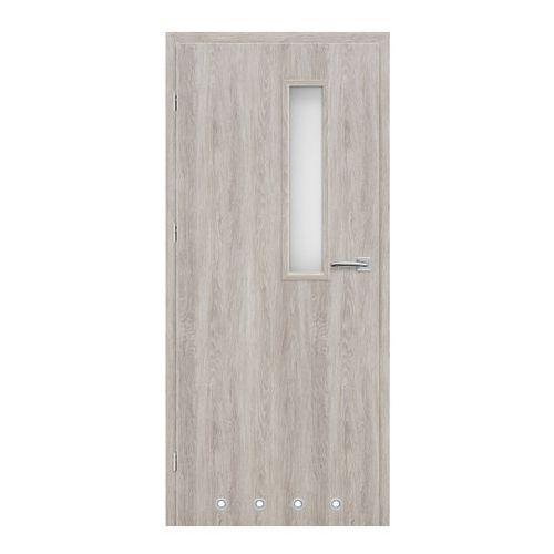 Drzwi z tulejami Exmoor 80 lewe jesion szary (5900378200802)