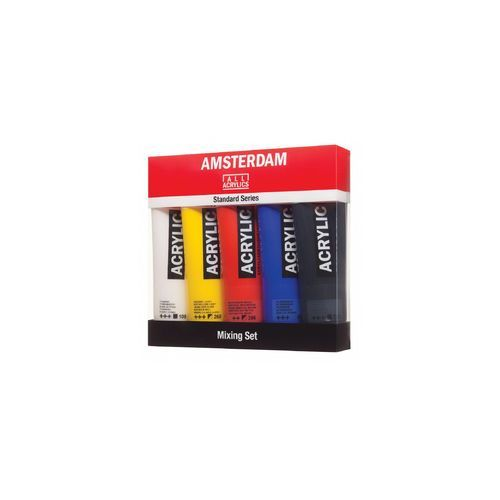 amsterdam acrylic mixing farby 5x120ml marki Talens