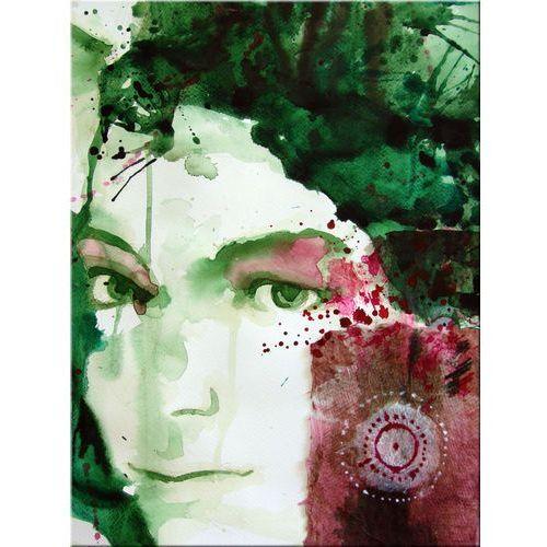"""obrazy nowoczesne """"watercolour face"""" HIT"""
