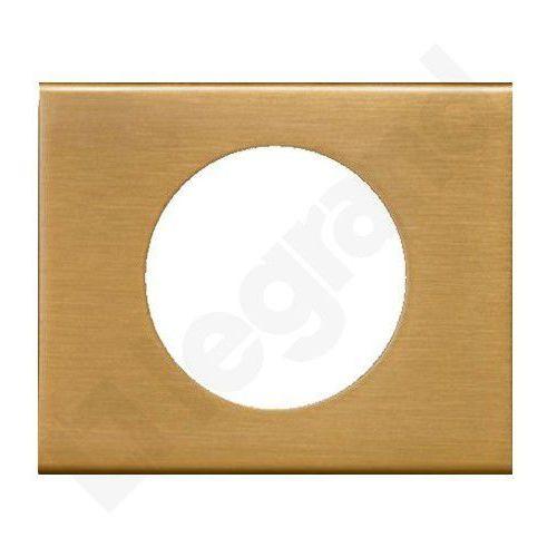 Ramka pojedyncza Legrand Celiane 069131 brąz złocony