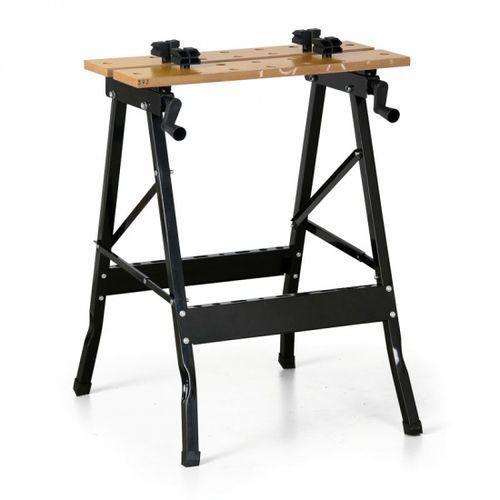 Rozkładny stół warsztatowy, 750 x 605 x 630 mm marki B2b partner