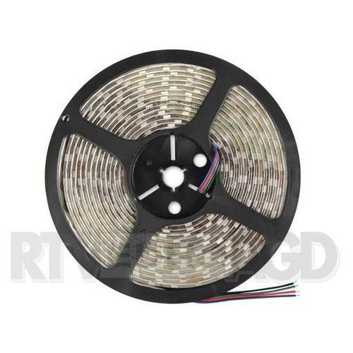 Whitenergy Taśma LED wodoodporna 5m, 60szt/m, 14.4W/m, 12V, zimna biała (07004) Darmowy odbiór w 21 miastach!, 7004