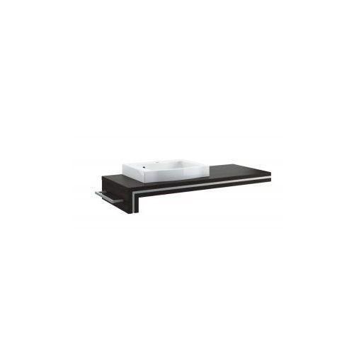 Aquaform  konsola podumywalkowa ancona 120 legno ciemne z otworem 0401-221601/0401-221602