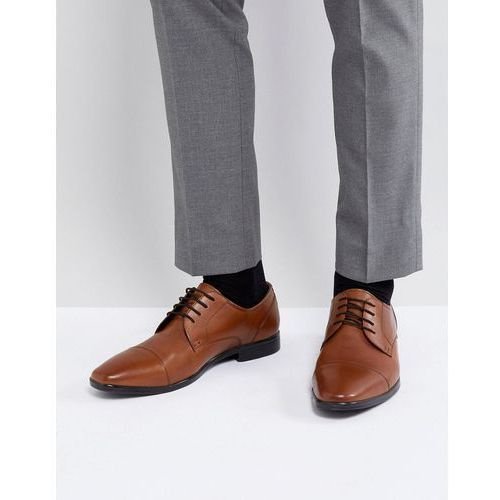 Pier one derby shoes in tan leather - tan