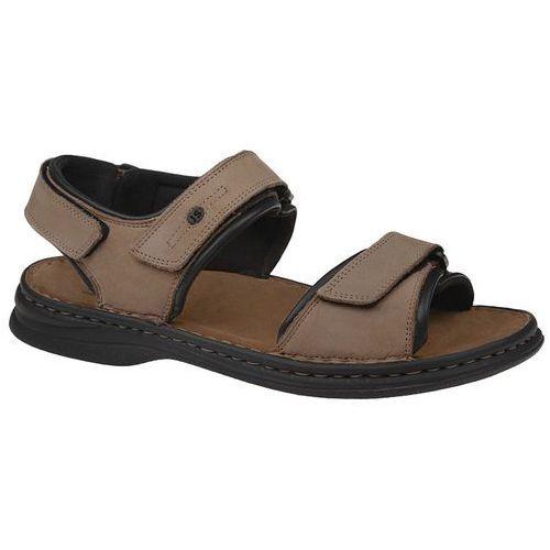 Sandały JOSEF SEIBEL 10104 11 121 Rafe Stone/Schwarz - Beżowy ||Szary ||Multikolor, kolor beżowy