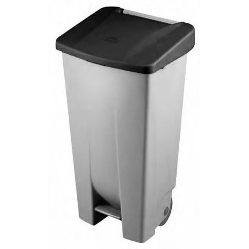 Tomgast Kosz na śmieci z pedałem bez pokrywy, 120 l   , de-23400