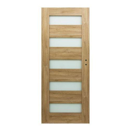 Drzwi pokojowe Borgeno 70 lewe amber (5908443049660)