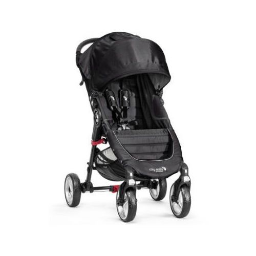 wózek spacerowy city mini 4-kołowy black / black marki Baby jogger