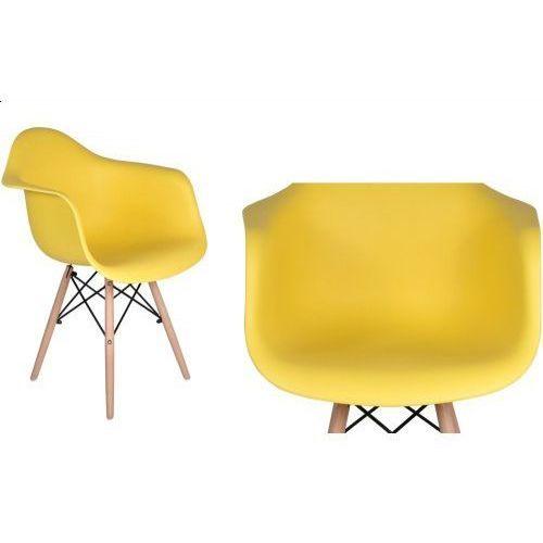 Krzesło Nicea - żółty, GK-0781