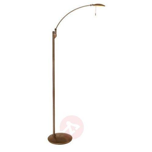 zenith lampa stojąca led brązowy, 1-punktowy - nowoczesny/klasyczny - obszar wewnętrzny - zenith - czas dostawy: od 6-10 dni roboczych marki Steinhauer