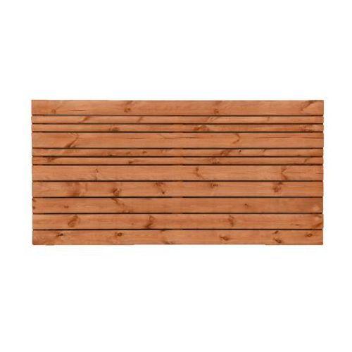 Werth-holz Płot ażurowy 180x90 cm drewniany goteborg wiśnia