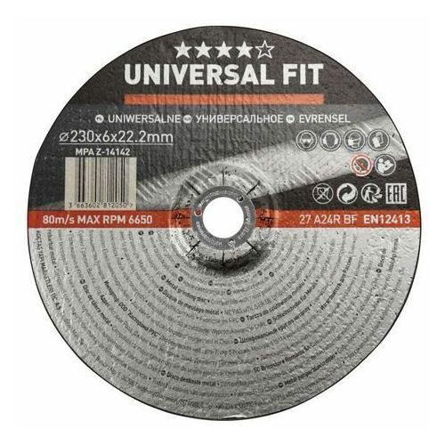 Tarcza do szlifowania metalu Universal 230 x 6 mm, BAB42432