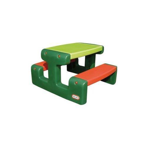 Mały stół piknikowy zielony