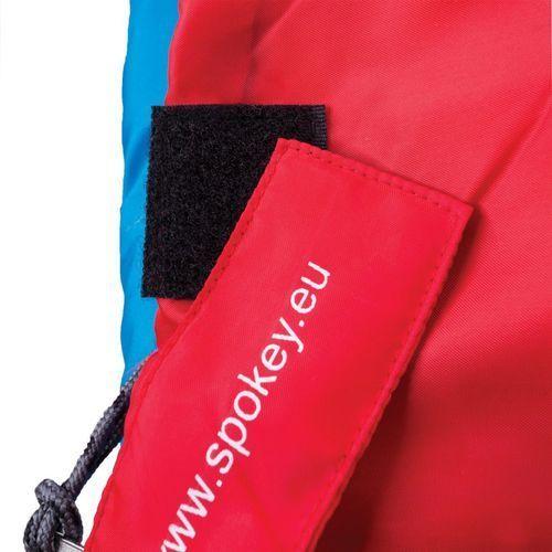 Spokey Śpiwór kołdra muff ii 920343 - niebieski ||czerwony