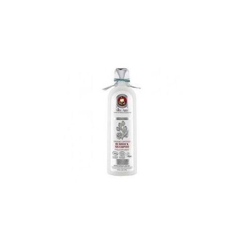 white agafia, organiczny szampon z łopianem siła i blask, 280ml marki Babuszka agafia