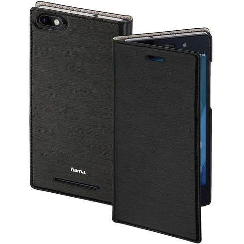 Pokrowiec na telefon  slim 177683, pasuje do modelu telefonu: wiko lenny 3, czarny marki Hama