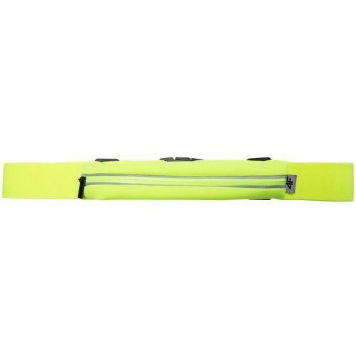 4f [c4l16-akb105] saszetka na pas do biegania akb105 - neonowy żółty