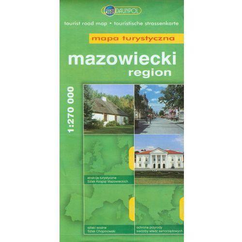 Region mazowiecki. Mapa turystyczna w skali 1:270 000 (2 str.)