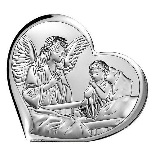 Obrazek srebrny aniołek z dzieckiem  bc6450/3 marki Beltrami