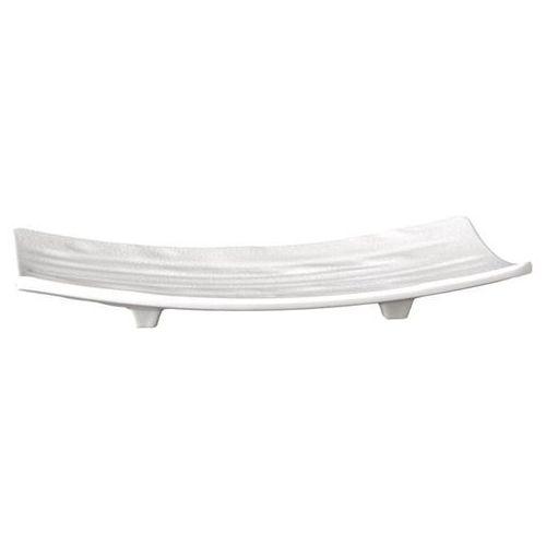 Półmisek prostokątny z melaminy 220x120 mm, biały | APS, Zen