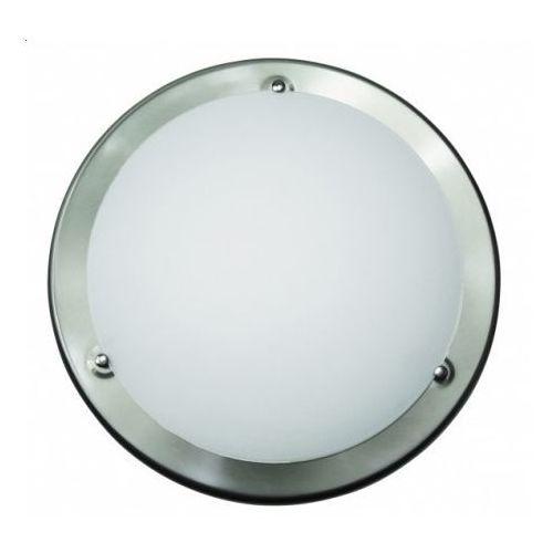 Plafon lampa sufitowa / ścienna Rabalux Ufo 2x60W E27 satynowy chrom/biały 5151