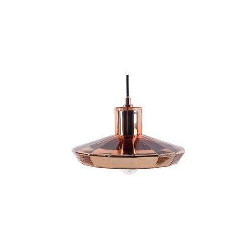 Lampa wisząca metalowa miedziana AMUR (4260580929597)