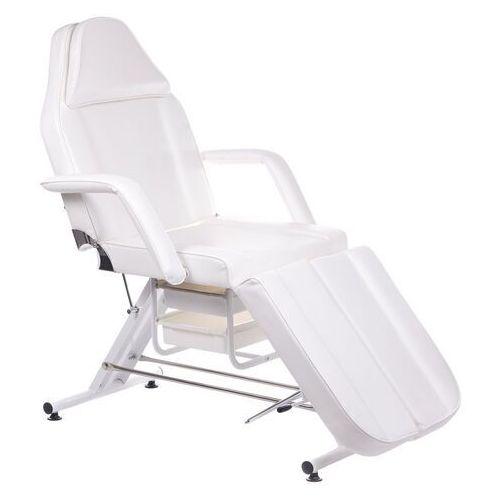 Beauty system Fotel kosmetyczny z kuwetami bw-263 biały