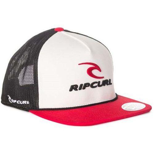 Rip curl Czapka z daszkiem - rippy team flat trucker red (40) rozmiar: tu
