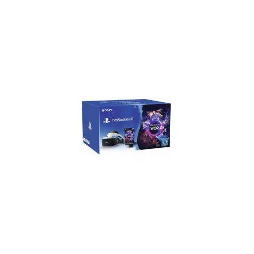 Sony playstation vr + playstation 4 camera v2 + vr worlds (voucher) - produkt w magazynie - szybka wysyłka!