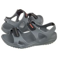 Crocs Sandały swiftwater river sandal m charcoal 203965-082 (cr124-b)