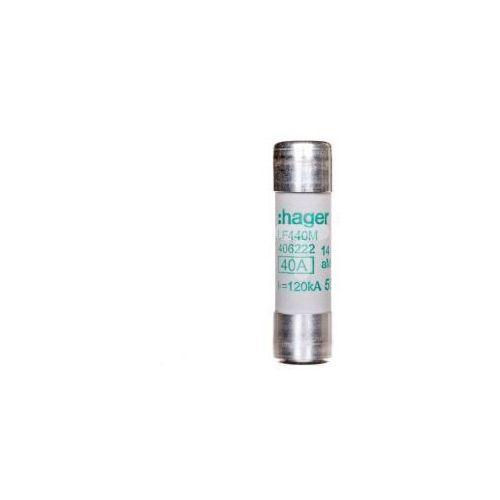 Bezpiecznik cylindryczny 14x51 aM 40A LF440M HAGER POLO (3250614062223)