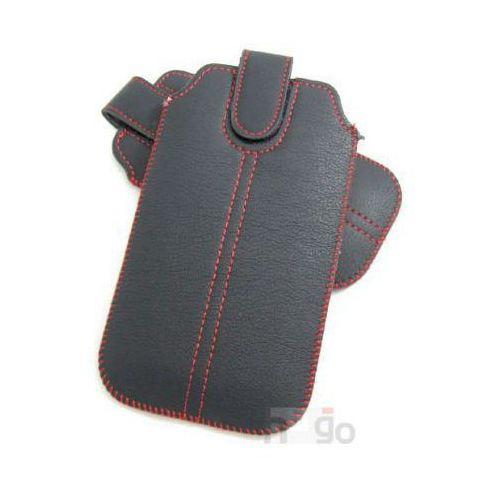 Wsuwka Chic Slim wymiar 130x65mm Czarna II, kolor czarny