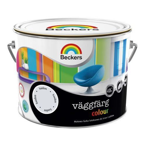 Beckers Farba lateksowa vaggfarg colour freedom 2,5 l