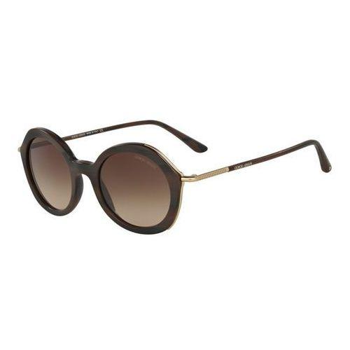 Okulary Słoneczne Giorgio Armani AR8075F Asian Fit 549513, kolor żółty