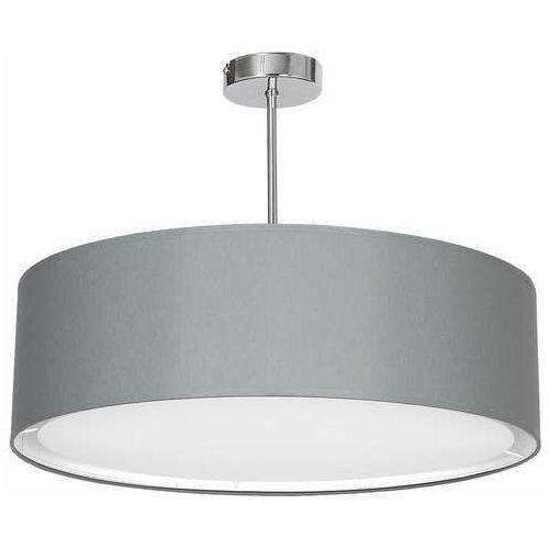 Luminex Plafon shade 2 gray 6913 lampa sufitowa 3x60w e27 szary / chrom (5907565969139)