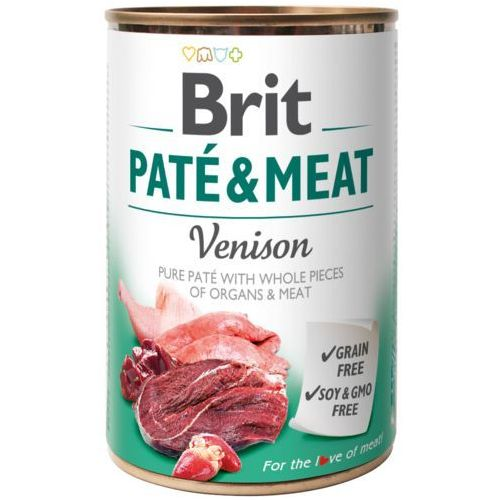 BRIT PATE & MEAT VENISON 400 g (8595602530328)