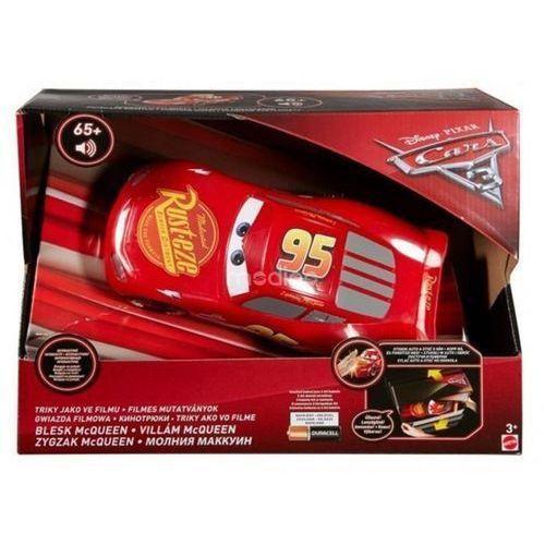 Interaktywny zygzak mcqueen kaskader mówiąca zabawka z bajki cars fgn48 marki Mattel