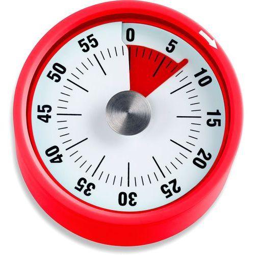 Minutnik kuchenny, czerwony, podstawa magnetyczna, ADE (AD-TD 1709), TD 1709