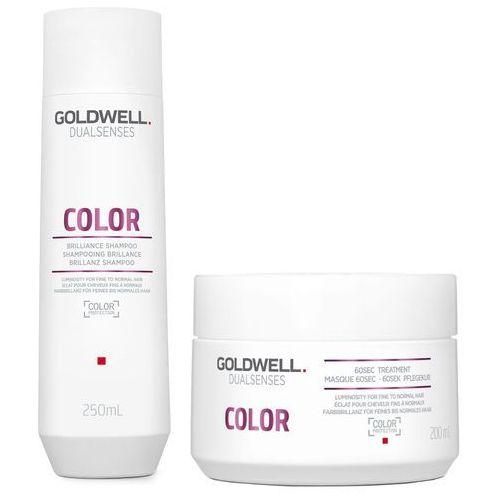 Goldwell Color   Zestaw do włosów farbowanych: szampon 250ml + maska 200ml